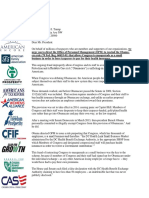OPM Congressional Obamacare Exemption Group Letter 2017-07-21