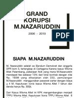 Grand Korupsi M Nazaruddin