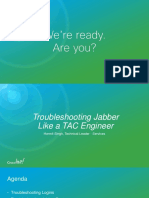 Troubleshooting Jabber Like a TAC Engineer