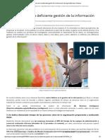 5 Síntomas de Una Deficiente Gestión de La Información _ Emagina Business Solutions