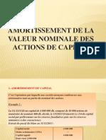 6- AMORTISSEMENT DE LA VALEUR NOMINALE DES ACTIONS.pptx