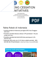 Pulmonology 1 Dr. Feni Fitriani Taufik, SpP(K), MPd.ked - Smoking Cessation Initiatives
