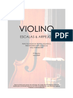 Violino - Escalas & Arpejos III