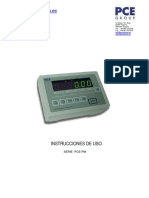 Balanza Plataforma Pce Pm 62 150 300