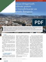 16 Prijelaz Iz Gauss Krugerovih u Utm Koordinate Putem Helmertove Transformacije Za Podrucje Grada Sarajeva