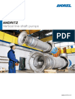 Hy Andritz Vertical Line Shaft Pump en Data