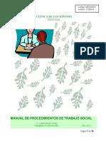Manual de Procedimientos Trabajo Social