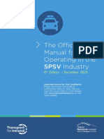 The Official Manual for Operation in the SPSV Industry 6th Edition Cover 12.01.17