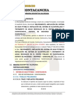 Memoria Descriptiva Valorizada Valorizacion N° 07 junio