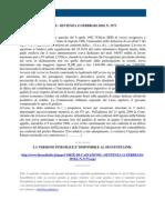 Fisco e Diritto - Corte Di Cassazione n 3173 2010