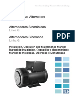 Alternadores Sincronicos, Manual de Instalacion, Operacion y Mantenimiento