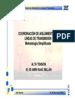 Cap 3.4-CAislamiento en LT-Metodologia