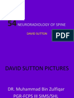 neuroradiology of spine
