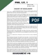 Summary of Hinilawod