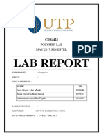5. Polymer Lab Report - Exp't 5(1)