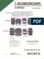 Sony Mhc-rg490s Rg590s Sm