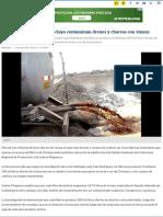 Fábricas de Alcohol de Chiclayo Contaminan Drenes y Chacras Con Vinaza