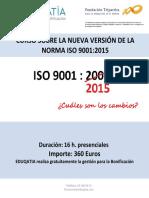 Curso Sobre La Futura Norma Iso 9001-2015