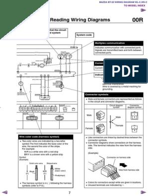 mazda bt50 wl c \u0026 we c wiring diagram f198!30!05l7  mazda bt50 wl c & we c wiring diagram