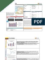 Informe Estadístico Colombia