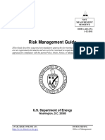 DOE-413 Risk Management Guide