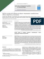 Aspectos Actuales Del Síndrome de Sjogren Etiopatogenia, Manifestaciones Clínicas, Diagnóstico y Tratamiento