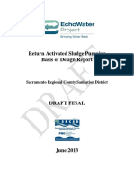 Return Activated Sludge Pumping  Basis of Design Report
