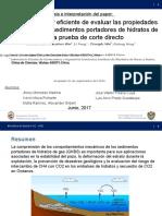 10 Una Manera Facil y Eficiente de Evaluar Las Porpiedades Mecánicas de Los Sedimentos Portadores de Hidratos de Gas La Prueba de Corte Directo