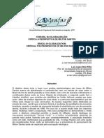 O Brasil Na Globalização - Crítica à Perspectiva de Milton Santos
