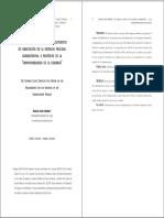 El Análisis de Oficio de Los Presupuestos de Habilitación de La Instancia Procesal Administrativa