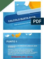 Calcolo Busta Paga