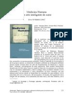Vol 8 (2013) Medicina Humana Un Arte Inteligente de Curar