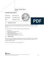 WWTF Improvements Project Design Report Technical Memorandum - INFLUENT PUMP STATION