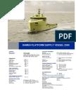 Platform Supply Vessel 2500 DS
