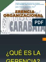 capacitacion en Gerencia Organizacional