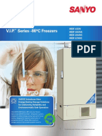 Ultra Freezer Sanyo Mdf-u54vc