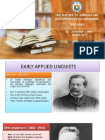 Approaches and Methods in Language