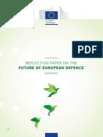 Reflection Paper Defence En