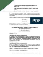 Ley Para La Construccion y Rehabilitacion de Pavimentos Del Estado de Nuevo Leon 0