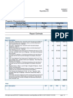 Estimate Report 1466434