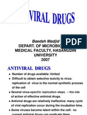 Antiviral | Virus | Antiviral Drug