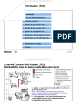 Curso Sistema Common Rail Bosch Tsd Combustible Mercedes Benz Ekp Formulas Diagramas Componentes Funciones Ensayo