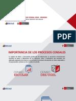 Proceso Censal MINEDU 2016
