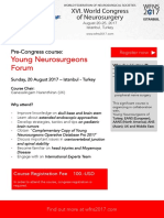 Pre-congress Young Neurosurgeons Forum (YNF) Course, XVI Word Congress of Neurosurgery