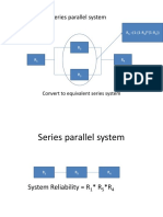 Series Parallel System