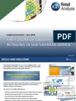 ThefutureofgroceryretailinginSubSaharanAfrica Retailing in Sub-Saharan Africa