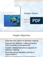 Chapter 12. Decision Making and Negotiation (Griffin)