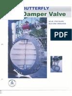 Damper Valve - Welded