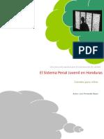 El Sistema Penal Juvenil en Honduras. Cárceles Para Niños