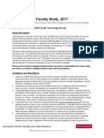 2017 e Car Faculty Survey